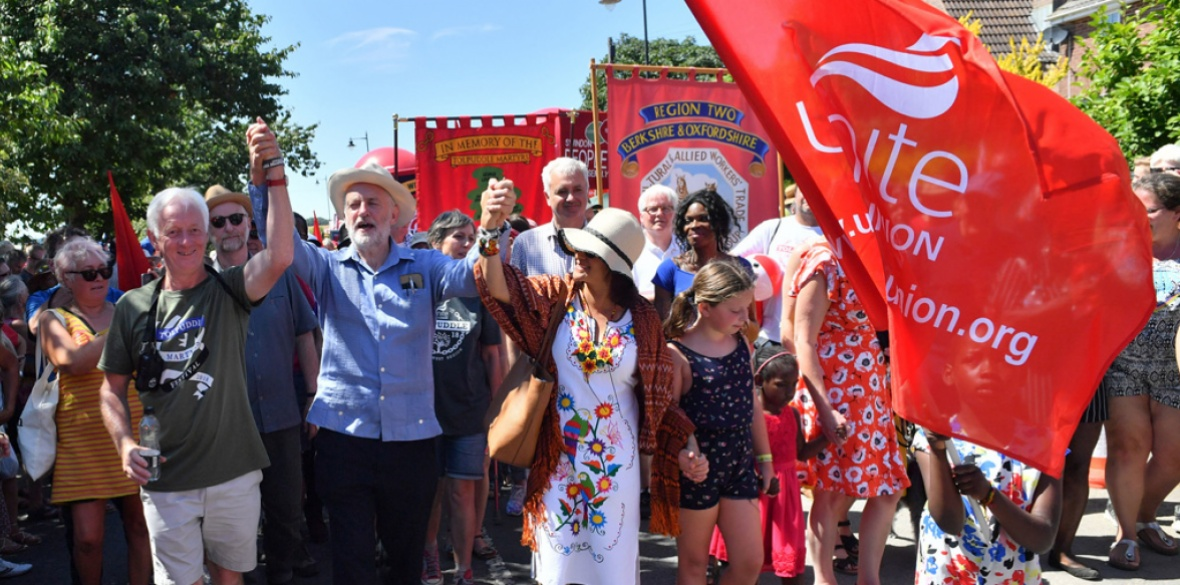 corbyn at tolpuddle