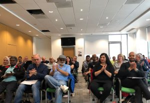 Audience at United Left conference on 28 September