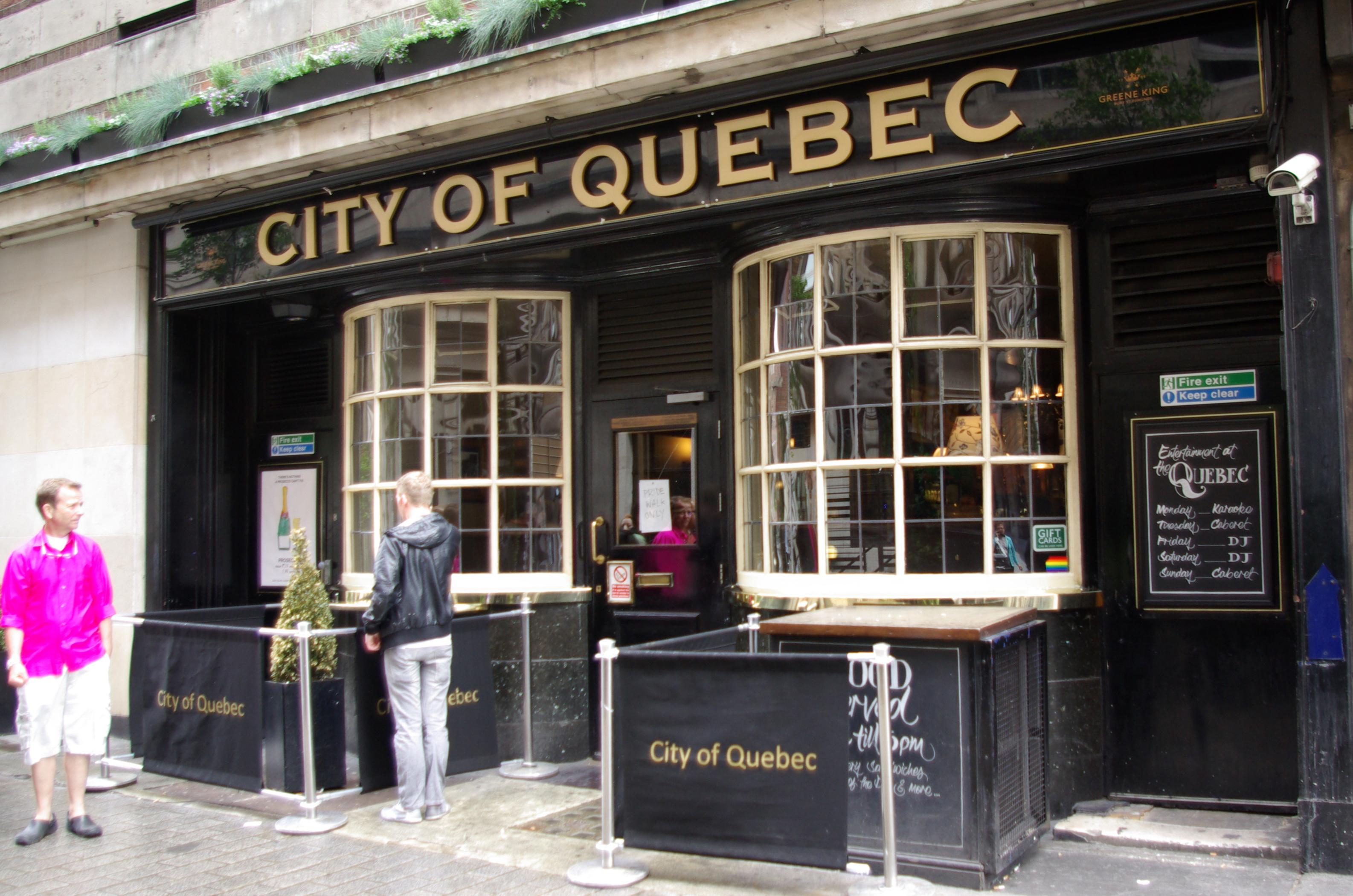 City of Quebec pub