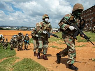 SANDF enforcing coronavirus lockdown