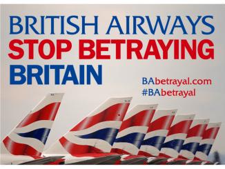 BA betrayal poster