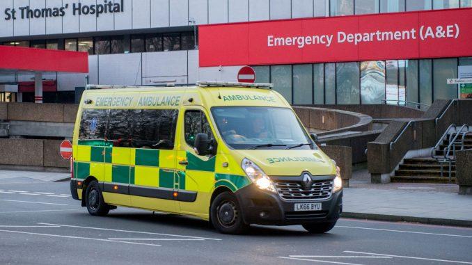 Ambulance coronavirus
