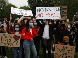 London Black Lives Matter march