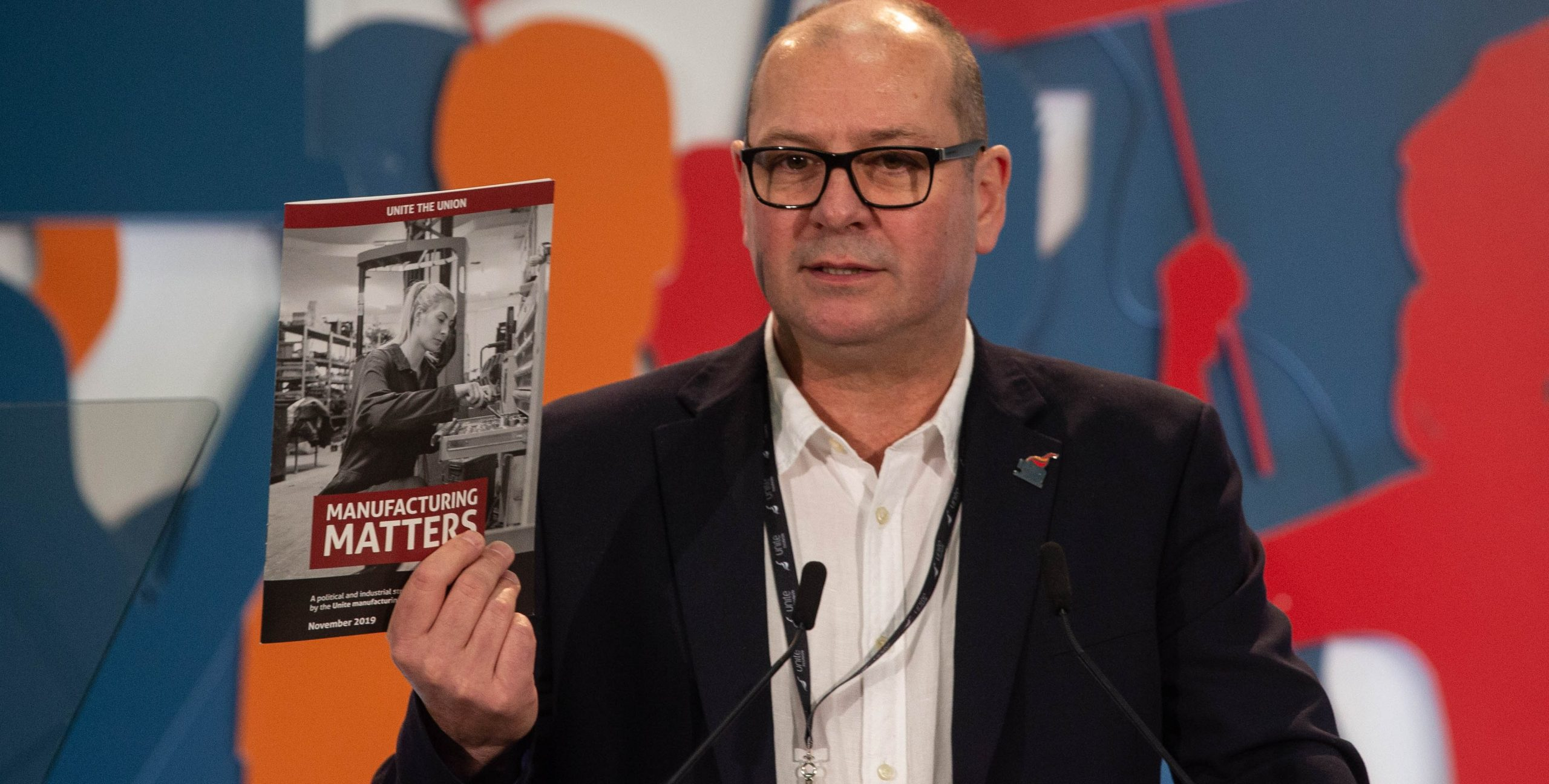 Steve Turner launches manufacturing matters