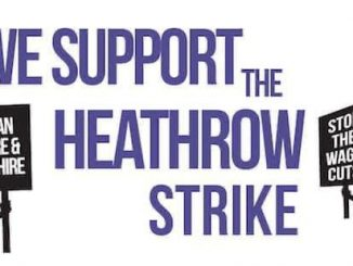 Support Heathrow strike
