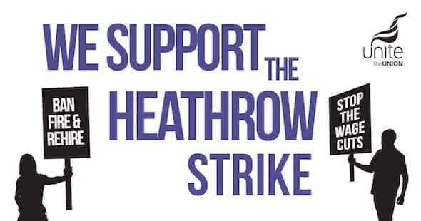 Support Heathrow strike