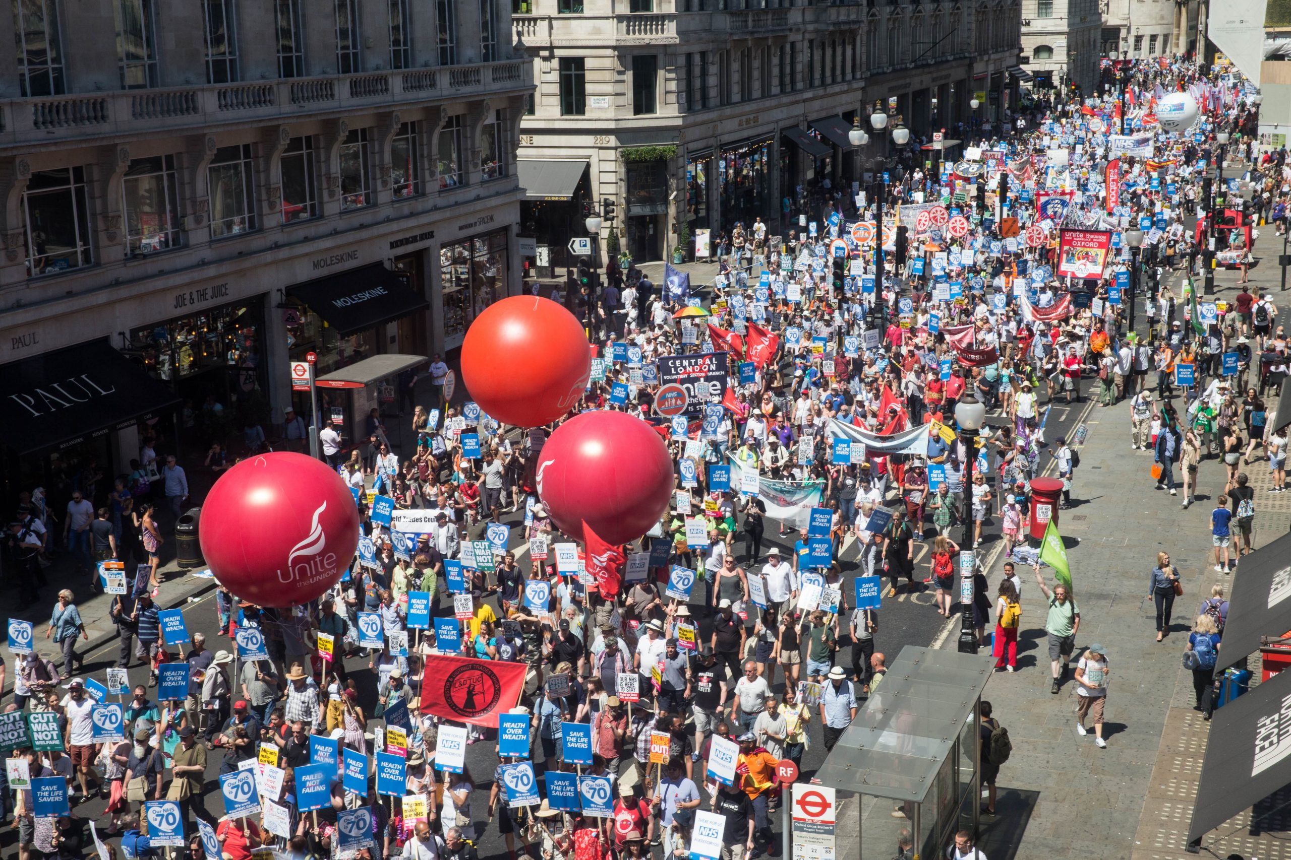 Unite march for jobs