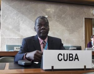 Cuban ambassador to UN