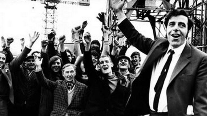 Jimmy Reid and shipbuilders