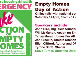 Empty homes Day of Action