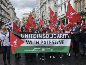 Unite in solidarity with Palestine