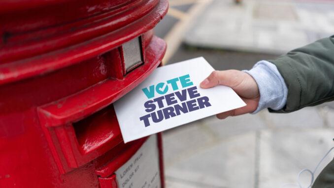 Vote Steve Turner
