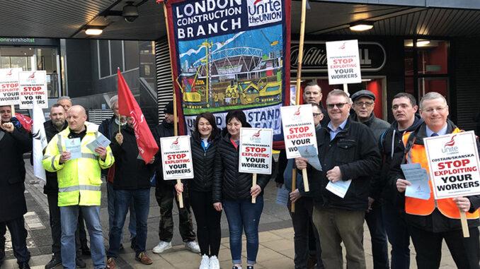 Unite HS2 protest