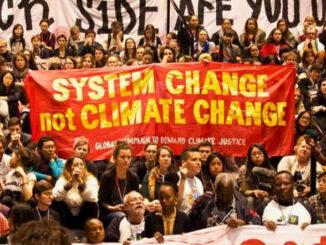 COP26 Trade Union bloc